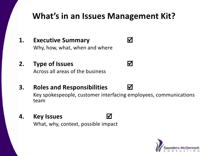 Best Practice Crisis And Issues Management A Recommended Approach B…