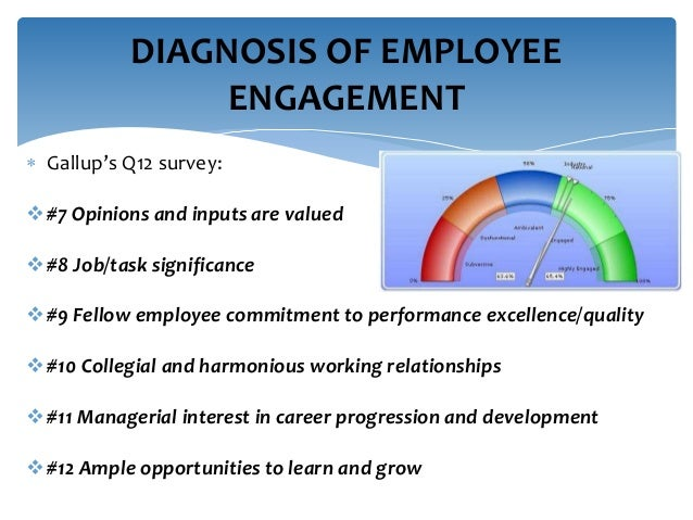 dissertation engagement performance predictability q12 survey using Gallup approaches employee engagement with sustainability in mind, and thus, provides managers and leaders with tools to help drive performance on an ongoing basis through a combination of measurement, reporting, learning.