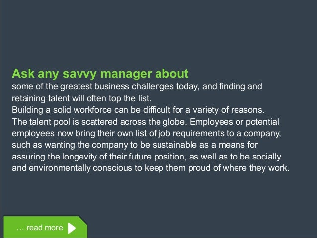Copyright © 2015 Dimension Data Ask any savvy manager about some of the greatest business challenges today, and finding an...