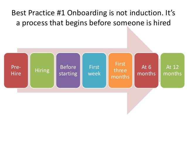 Best practice onboarding - trends and examples in managing talent acq…
