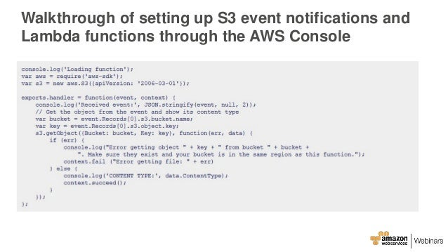 AWS June Webinar Series - Best Practices: Dynamic Data Ingestion with…