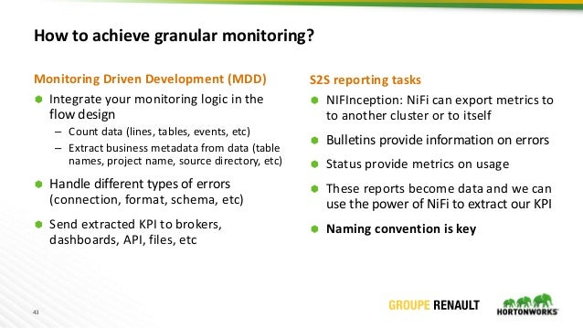 Best practices and lessons learnt from Running Apache NiFi at Renault