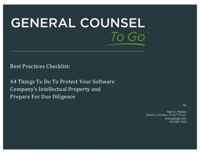 Best Practices Checklist 44 Things To Do To Protect Your Software C