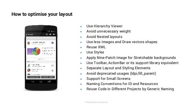 Best Practices for Android UI by RapidValue Solutions