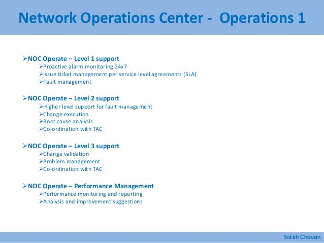 Best practices for building network operations center