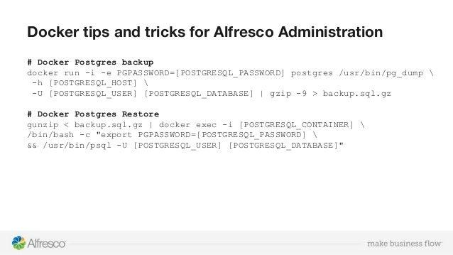 Docker Postgres Import Sql File