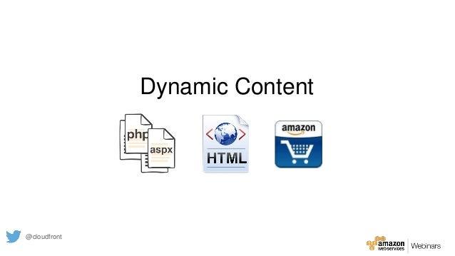 Dynamic Content @cloudfront