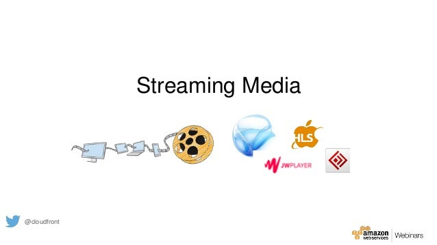 Streaming Media @cloudfront