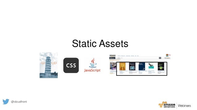 Static Assets @cloudfront