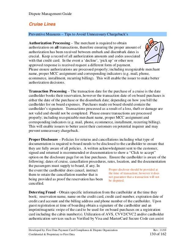 Best practices for efficient handling of retrievals chargebacks