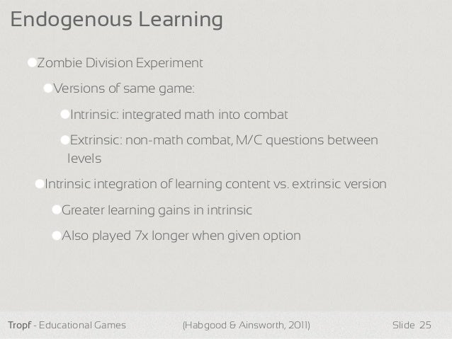Best Practices Around Implementing Educational Games