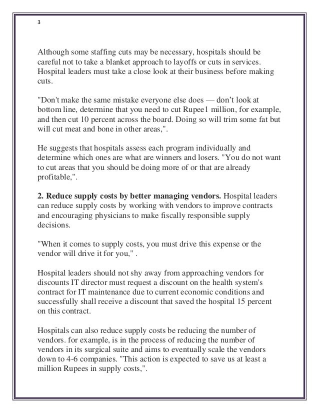 Best Practices For Increasing Hospital Profitability By DrMahboob Kh