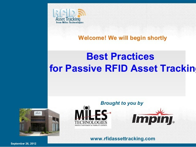 Welcome! We will begin shortly                           Best Practices                                 for               ...
