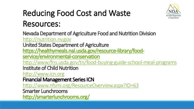 a discussion on the importance of reducing food waste in the united states When considering food service waste reduction practices, it is important to   discarded food items, trends, and observations should be discussed with the  kitchen  and breakfast programs administered by the united states department  of.
