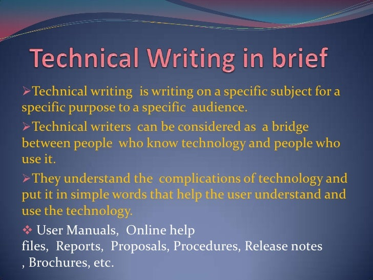 technical writing online help Online help documentation isn't usually a priority when buying or building software systems, which is why it's rarely as helpful as it could (or should) be to ensure your online help system actually helps end users, follow these three best practices.
