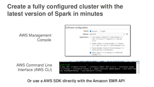 Best Practices for Using Apache Spark on AWS