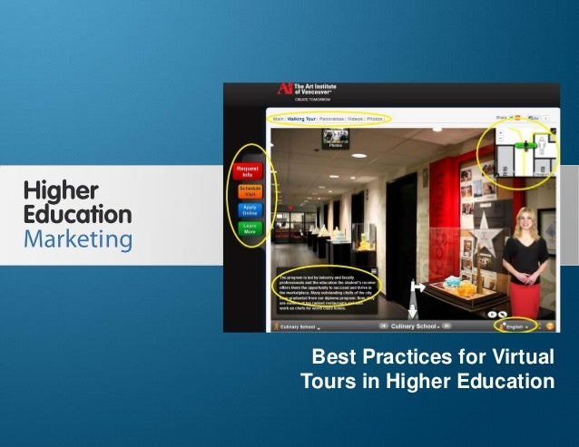 Best Practices for Virtual Tours in Higher Education Slide 1 Best Practices for Virtual Tours in Higher Education