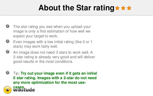 About the Star rating The star rating you see when you upload your image is only a first estimation of how well we expect ...