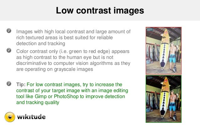 Low contrast images Images with high local contrast and large amount of rich textured areas is best suited for reliable de...