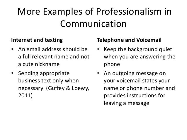 email examples for business communication