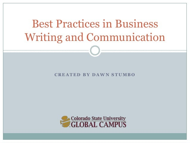 25 Best Practices for Better Business Writing