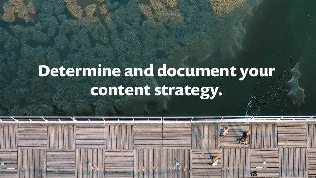 Why is it important to have a documented content marketing strategy? Source: CMI #ULTRA15@CaitlinDomke