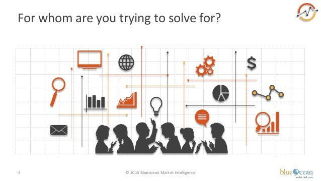 For whom are you trying to solve for? © 2015 Blueocean Market Intelligence4