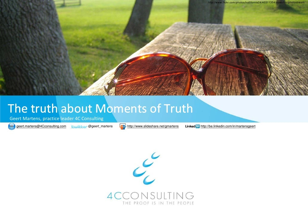 Customer experience & moments of truth: best practice highlights