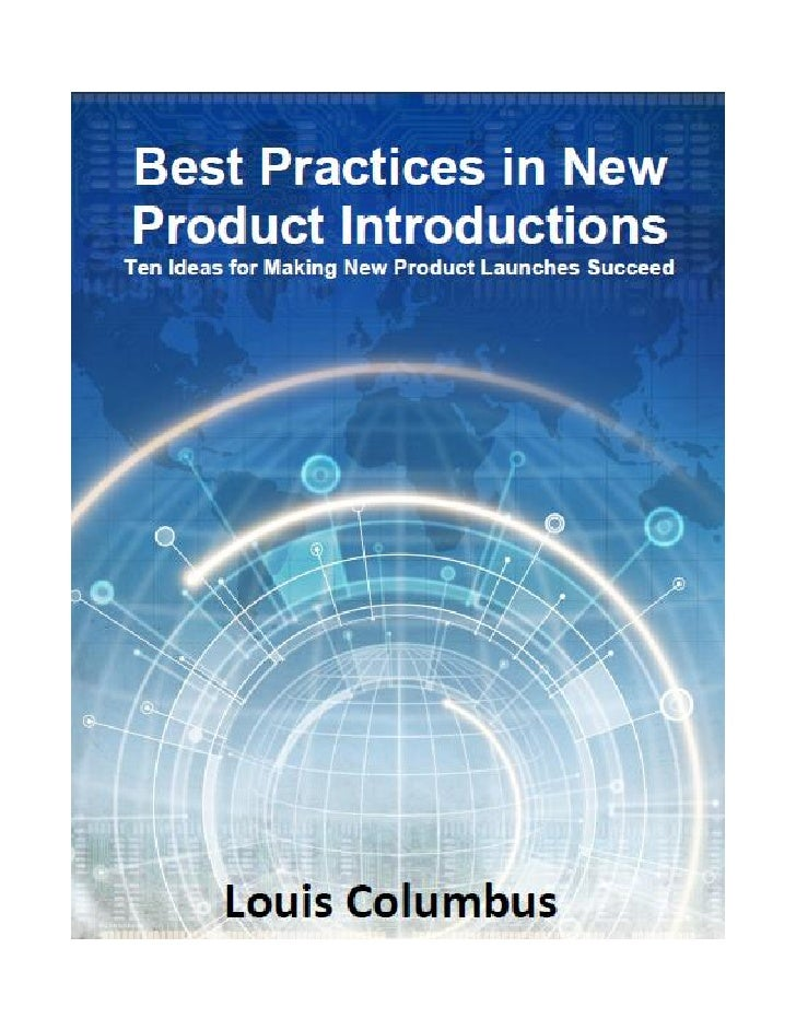 Best practices in new product introductions ebook 2 ten ideas for making new product launches succeed table of fandeluxe Image collections