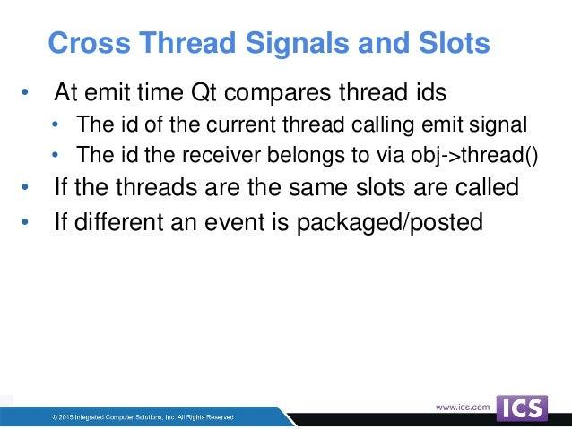 Qml slots signals