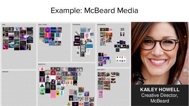 Example: McBeard Media KAILEY HOWELL Creative Director, McBeard