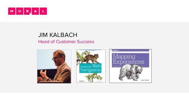 JIM KALBACH Head of Customer Success
