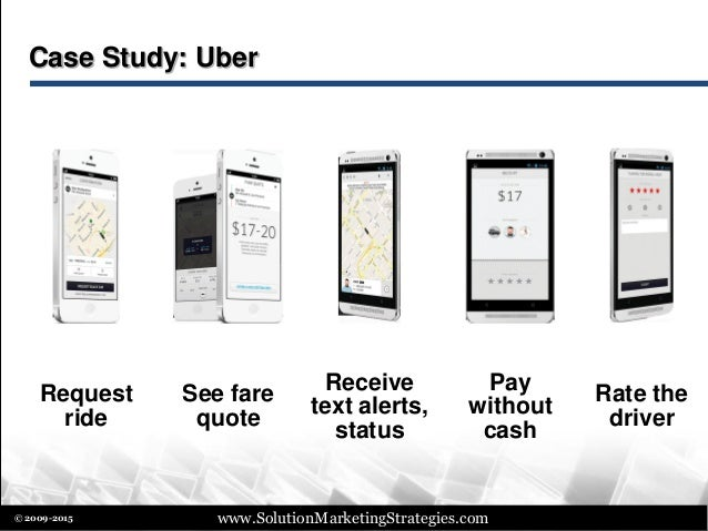 Uber Rate Quote >> Best Practices in Solution Marketing (presentation to BPMA on Nov 19,…