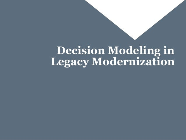 Best Practices In Targeted Legacy Modernization