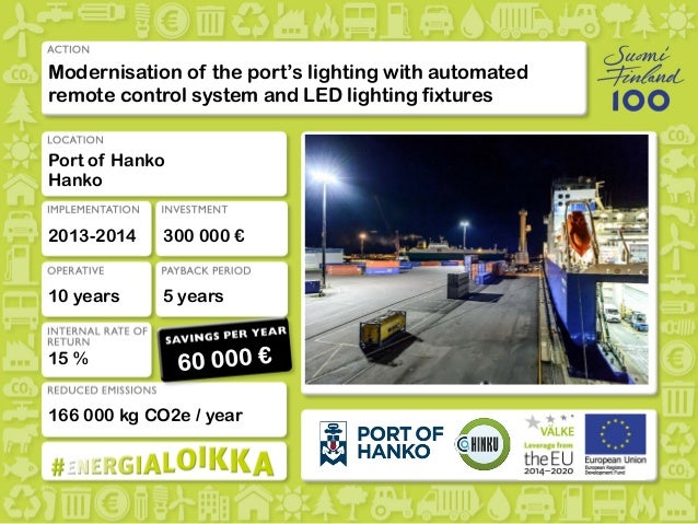More information Modernisation of the port's lighting with automated remote control system and LED lighting fixtures Port ...