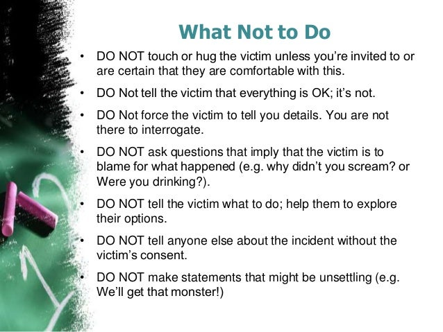 Victims of sexual assault have two options available for pics 20