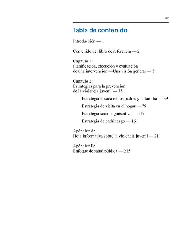 Capítulo 1 - 1  Introducción  La violencia entre los niños y adolescentes constituye una  preocupación importante en mater...