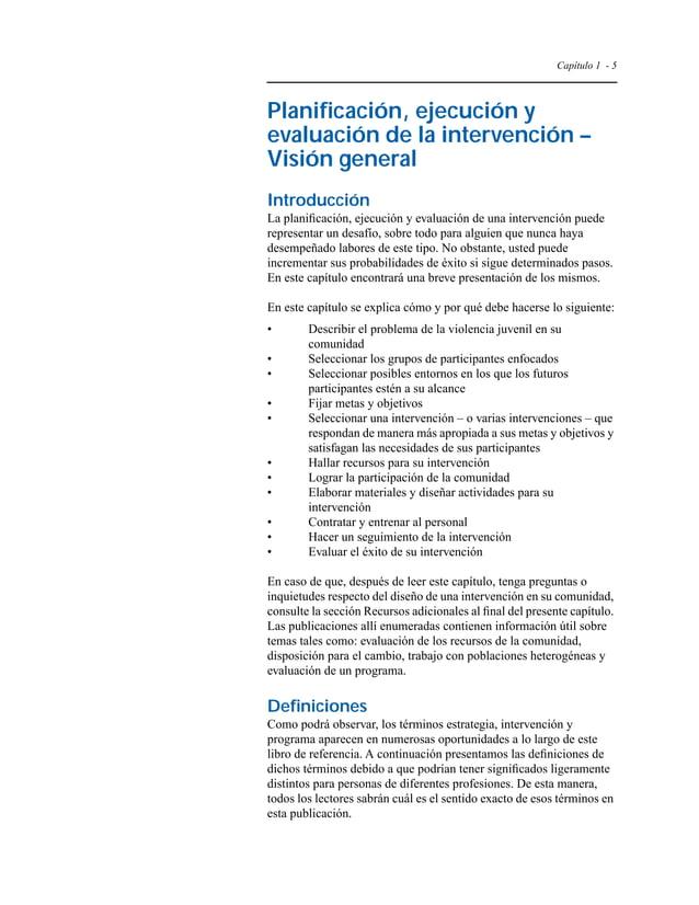 Capítulo 1 - 8  trabajadores del sector sanitario y padres. Pregunte, por ejemplo, a los  directores de escuelas y conseje...