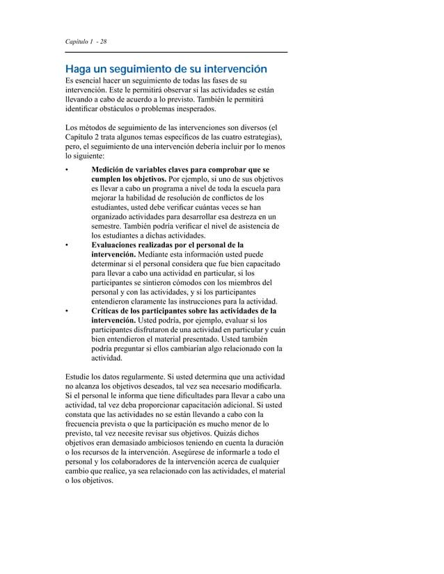 Capítulo 1 - 31  Recursos adicionales  Publicaciones  Las publicaciones siguientes contienen información sobre la  violenc...