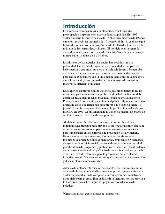Capítulo I  Planificación, ejecución y  Evaluación de la intervención  – Presentación general