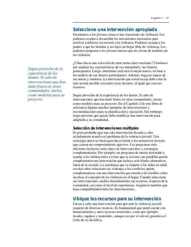 Capítulo 1 - 18  Tabla 5  Organismos encargados de otorgar  subvenciones globales  Atención preventiva  Centros para la Pr...