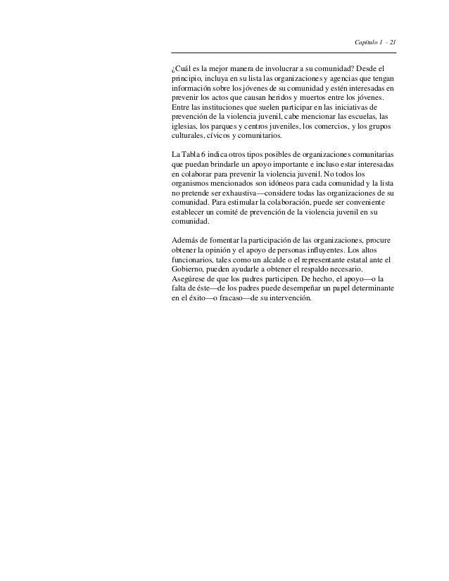 Capítulo 1 - 24  Evaluación preliminar del material y las actividades  Antes de llevar a cabo su intervención, pruebe el m...
