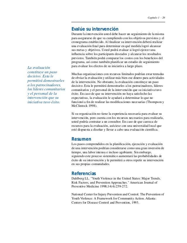"Capítulo 1 - 32  Goodman RM, Speers MA, McLeroy K, Fawcett S, Kegler M,  Parker E, et al. ""Identifying and Defining the Di..."