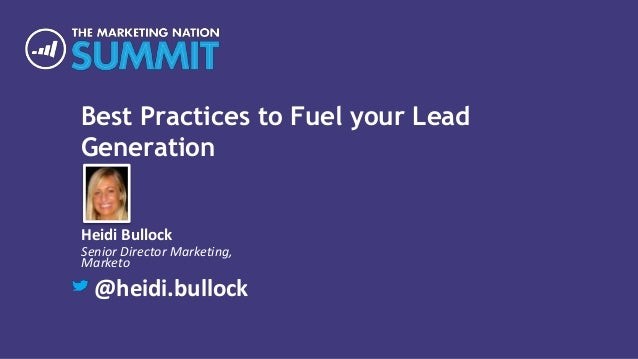 Best Practices to Fuel Your Lead Generation