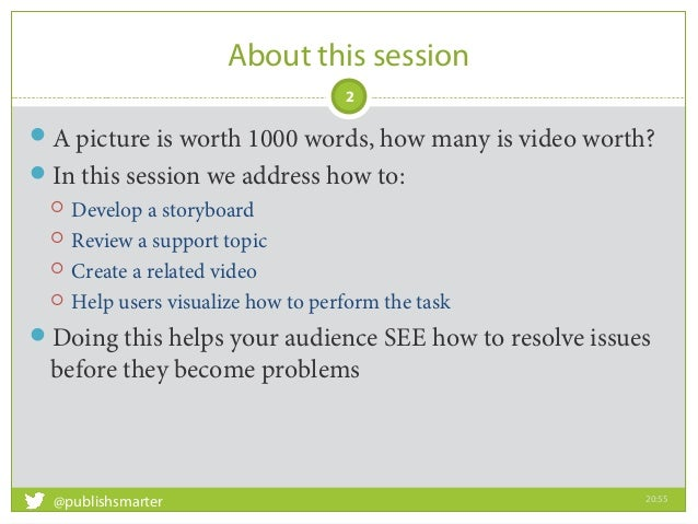 Best practices when creating interactive video tutorial: STC Silicon Valley Slide 2