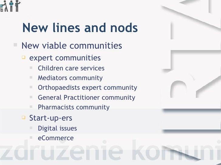 New lines and nods   New viablecommunities       expertcommunities           Children care services           Mediat...