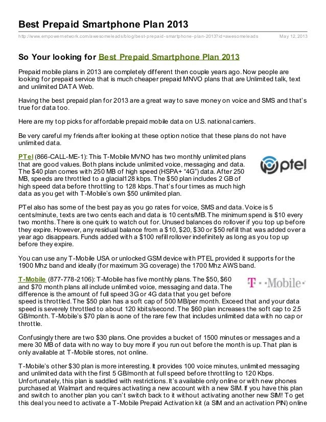 http://www.empowernetwork.com/awesomeleads/blog/best-prepaid-smartphone-plan-2013?id=awesomeleads May 12, 2013Best Prepaid...