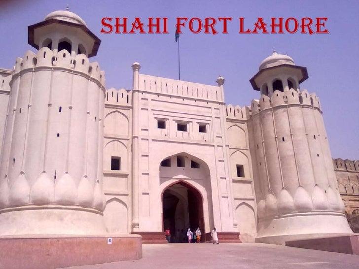 Lahore fort essay outline