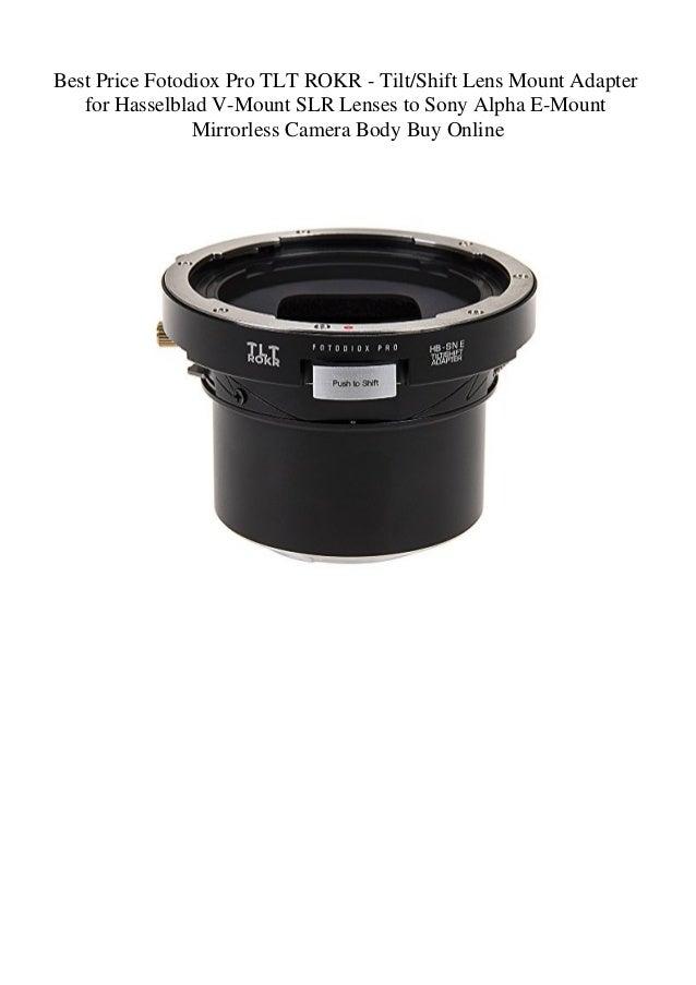 Best Price Fotodiox Pro TLT ROKR - TiltShift Lens Mount