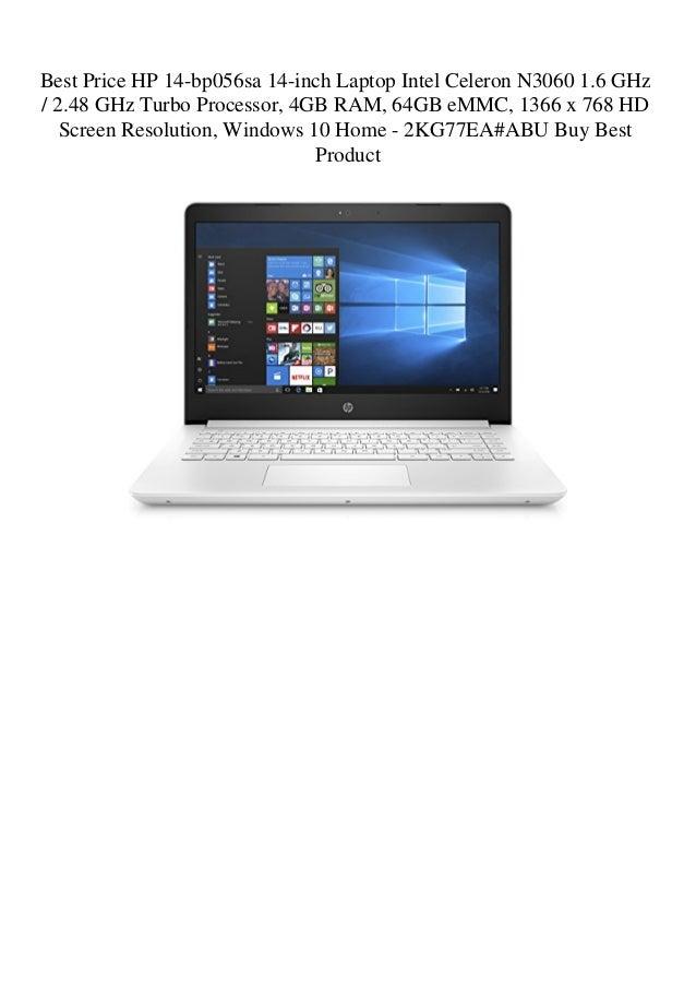 Best Price HP 14-bp056sa 14-inch Laptop Intel Celeron N3060